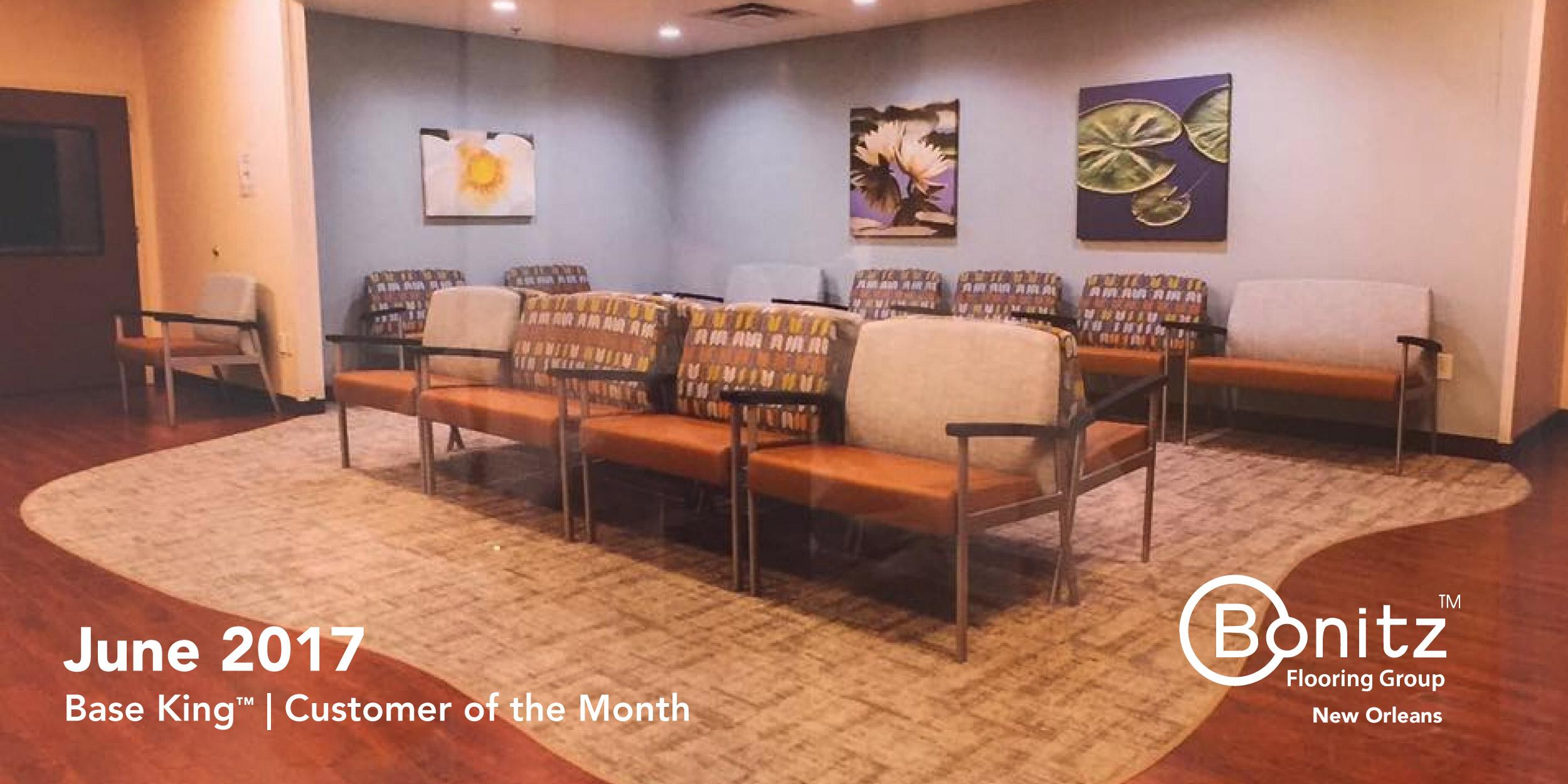 June 2017 Customer Of The Month Bonitz Flooring Group