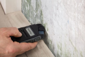 It's important to test the concrete moisture before laying your flooring