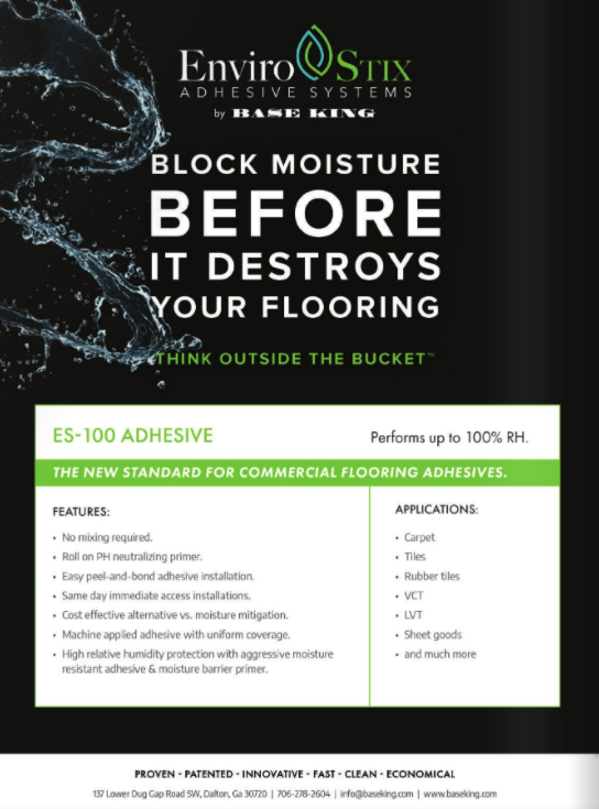 Base King featured in The Flooring Contractor Winter 2020 Issue